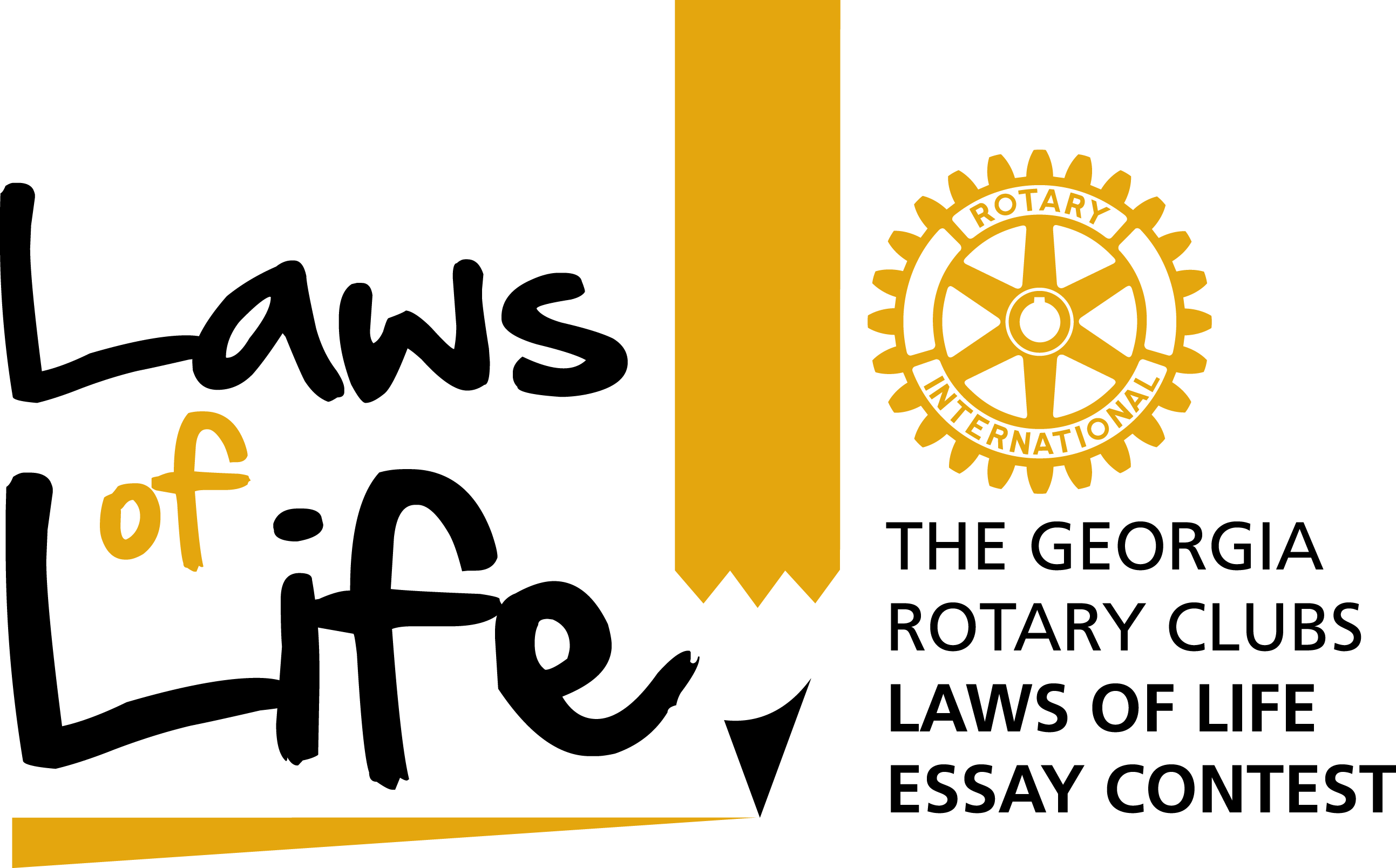 laws of life essay example Student writing tips & awards examples of laws of life the georgia laws of life essay contest is a character education and ethical literacy program.